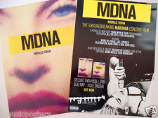 "MADONNA ""MDNA WORLD TOUR"" THAILAND PROMO POSTER - Pop, Dance, Electronic Music"