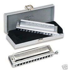Seydel Saxony Chromatic Harmonica STAINLESS STEEL REEDS in G