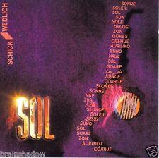 Schick wedlich SOL CD feuersee Rec. Ger 1990 Acoustic Guitar Duo!!!