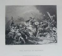 Death of Harold Battle of Hastings Chronicle of England  6x5 inch Print