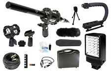 Microphone Complete Camcorder Kit for Canon GL1 GL2 XA20 XA25 XH A1 A1s G1