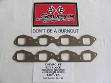 Chevrolet Big Block Exhaust Gaskets (Brodix/Edelbrock)