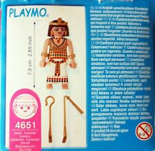 PLAYMOBIL EGYPTIAN Ancient Egypt  QUEEN CLEOPATRA 4651 figure pharaoh
