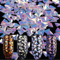 0.7g  AB Color Chameleon Nail Art Sequins  Flakes  3D Decoration