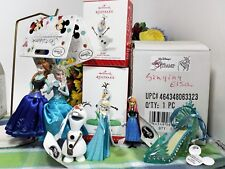Disney Sketchbook Hallmark Elsa and Olaf ornament ornament lot Plus Jewelry Box