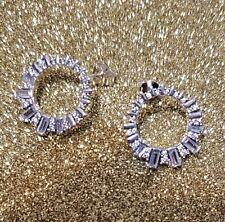 Drops Cz Earrings 297545Cz *New* Authentic Pandora Silver Glacial Beauty
