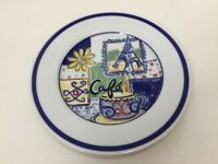 "Williams-Sonoma Parisian Cafe ""Eiffel Tower"" Plate, 7 3/4"" Diameter"