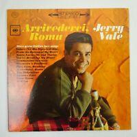 Jerry Vale Vinyl LP Arrivederci Roma