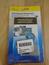 Promaster LCD SCREEN PROTECTORS 4 Pack Digital Cameras Camcorders PDA Cellphones