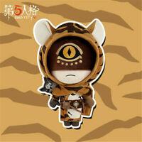 Identity V Original Survivor Eli Clark Seer Plush Doll Toys Tiger Skin Clothes