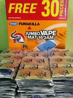 16 HOURS MOSQUITO REPELLER MAT TABLET REFILL.THERMACELL 75 PCS- 360 PCS