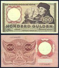 NETHERLANDS 100 Gulden 1953 VF P 88