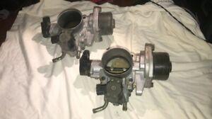 Two 04-06 Hyundai Santa Fe Kia Amanti GX350 3.5L Throttle Body Actuator Valves