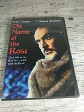 The Name of the Rose (DVD, 2004) Sean Connery  F. Murray Abraham  **RARE, 1986**