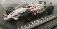1/43 LOLA FORD T93 INDIANAPOLIS 500 MILES NIGEL MANSELL COCHE DE METAL A ESCALA