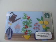 "CARTE CADEAU-GIFT CARD-STARBUCKS-FRANCE-FR-n°6106-VARIETE /""LOSANGE/"" DIAMOND-2014"