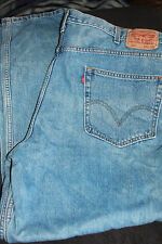Levis 550 Blue Jeans 42x32 Relaxed Fit 100% Cotton