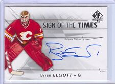 Brian Elliott 2016-17 SP Authentic Sign Of The Times C'D SOTT-BE