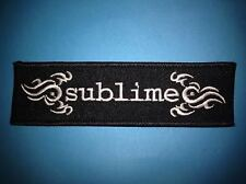 Sublime Hard Rock Music Iron On Hat Jacket Backpack Hoodie Metal Patch Crest