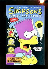 SIMPSONS COMICS AND STORIES 1 W/ POSTER (9.4) BONGO COMICS (b045)