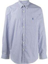 Polo Ralph Lauren Navy Classic Fit Long Sleeve 100% Cotton