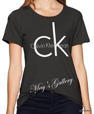 Calvin Klein T-shirt Polo T Shirt Tank Top Tee Blouse SS NWT Woman CK XS S M L