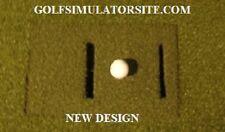 Optishot 2 Indoor Golf Simulator Thick Turf Top ** NEW DESIGN 2017**