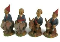 Wolfe Clark Gnome Poll 2000 Presidential Campaign Lot of 4 Cairn Studio