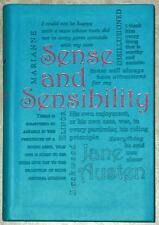 SENSE & SENSIBILITY ~ JANE AUSTEN ~ LEATHER GIFT EDITION ~ BRAND NEW