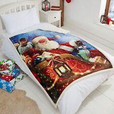 Couvertures lavable en machine multicolores pour le lit, pour chambre à coucher