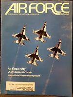 Air Force Magazine AFA Aviation Journal July 1997 USAF Thunderbirds