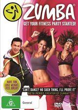 Zumba Fitness  - DVD - NEW Region 2 and 4
