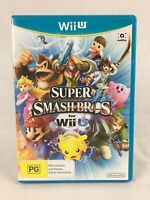 Super Smash Bros - With Manual - Nintendo Wii U - PAL