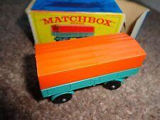 Lesney matchbox vintage no 2 Mercedes Trailer box