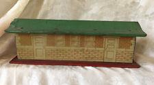 1930's HAFNER Tin Litho Railroad Train Station Office Building PREWAR O Gauge