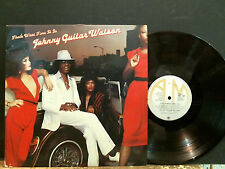 JOHNNY GUITAR WATSON  That's What Time It is LP  DEMO   Funky   Great !