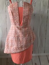Super Cute ELLIATE Peace & Lace Dress Sz Xs  Current Season Style!