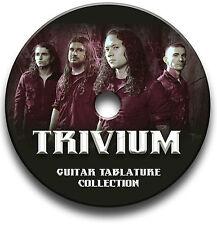 TRIVIUM HEAVY METAL ROCK GUITAR TABS TABLATURE SONG BOOK SOFTWARE CD