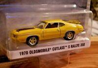 Greenlight 1:64 GLMuscle 1970 Olds Cutlass S Rallye 350 Diecast Car 13210-C