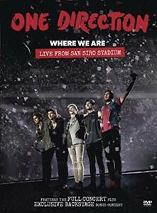 One Direction Where We Are Live From San Siro Stadium DVD Ne Sealed
