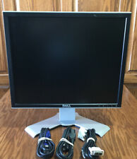 """Dell UltraSharp 17"""" inch Desktop Computer LCD Monitor With Cables"""