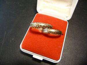 2x 333 Gold Eheringe Trauringe Hochzeitsringe 5,01 Gramm 67/21,0 & 60/19,1mm