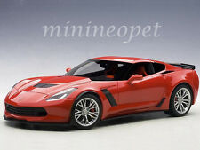 AUTOart 71262 CHEVROLET CORVETTE C7 Z06 1/18 MODEL CAR TORCH RED