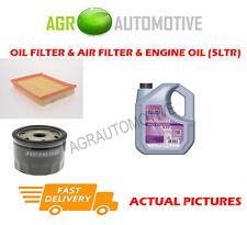 PETROL OIL AIR FILTER KIT + FS 5W30 OIL FOR FORD FIESTA 1.2 75 BHP 2002-08