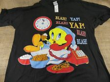 "Vintage 1998   Tweety Bird ""Blah, Blah""  T-Shirt  Looney Tunes One size"