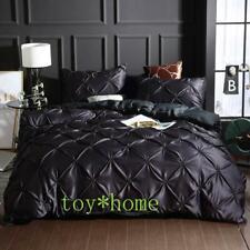 Satin Microfiber Bedding Sets Duvet Cover and Pillowcase (no Sheet) Full Size us