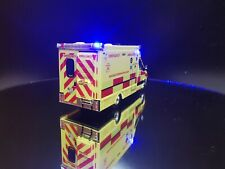 More details for oxford dublin fire brigade ambulance 1/76 scale with working emergency lights