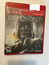 NEW Dishonored (Sony PlayStation 3, 2012) PS3 Greatest Hits Factory Sealed