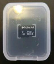 Polaroid 8GB Micro SDHC Class 10 Memory Card