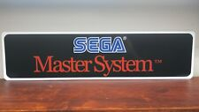 Sega Master System logo Aluminum sign